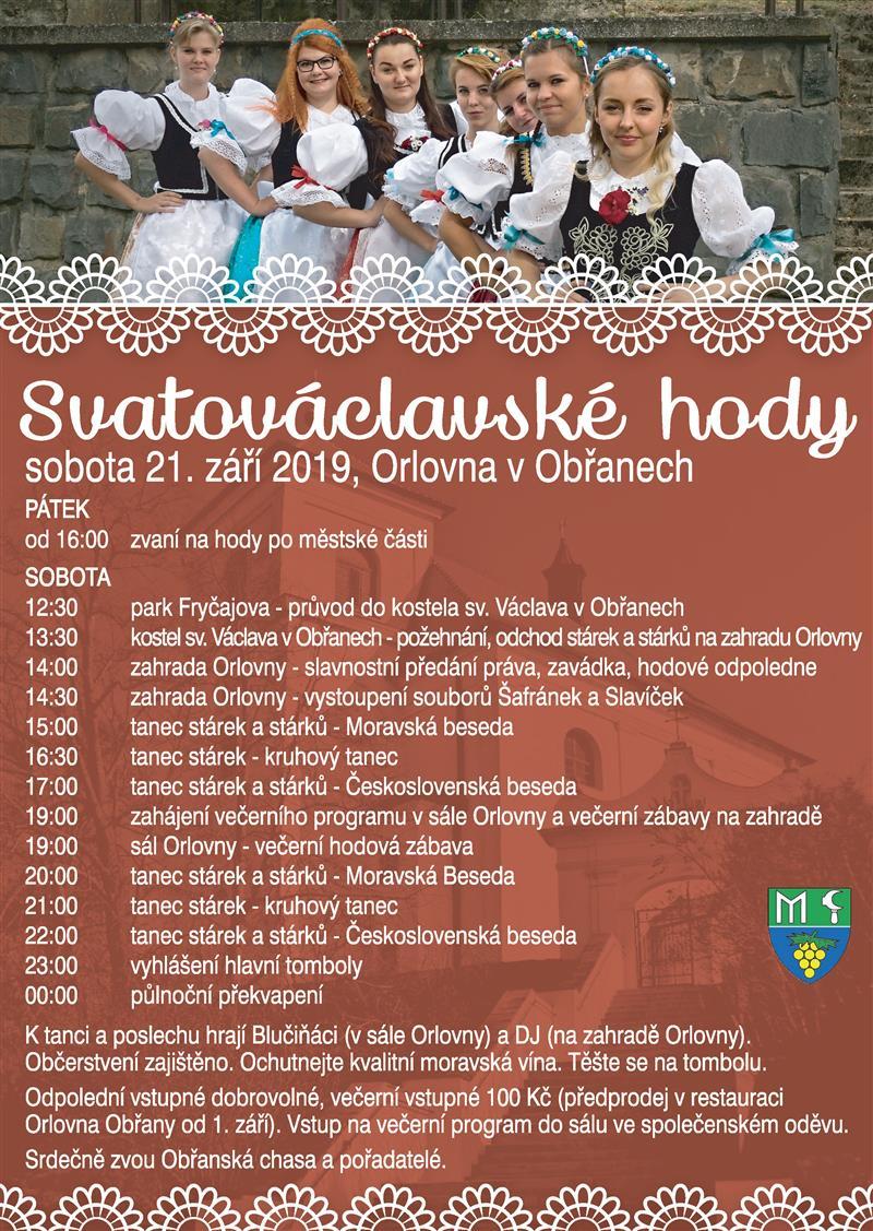 Svatováclavské hody 2019