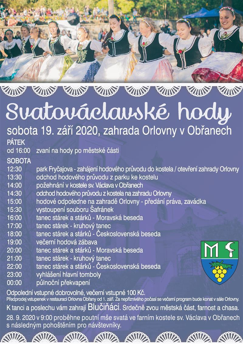Svatováclavské hody 2020